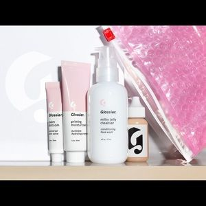 use link in description for 10% off glossier